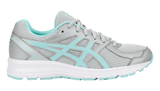 ASICS Women's Jolt Running Shoe - Glacier Grey/Aqua Splash/White