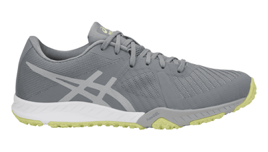 ASICS Women's Weldon X™ Training Shoe - Stone Grey/Mid Grey/Limelight
