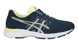 ASICS Women's GEL-Exalt™ 4 Running Shoe - Dark Blue/Silver/Limelight