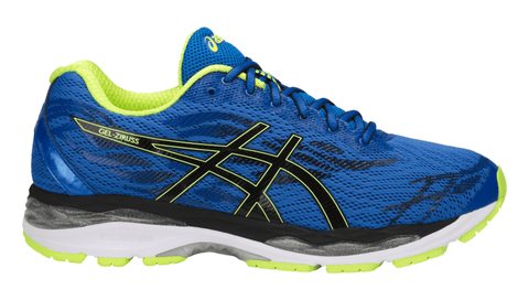 ASICS Men's GEL-Ziruss™ Running Shoe - Victoria Blue/Black/Safety Yellow