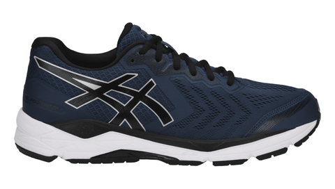 ASICS Men's GEL-Foundation® 13 (Extra Wide) Running Shoe - Dark Blue/Black/White