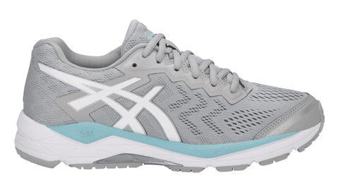 ASICS Women's GEL-Fortitude® 8 Running Shoe - Mid Grey/White/Porcelain Blue