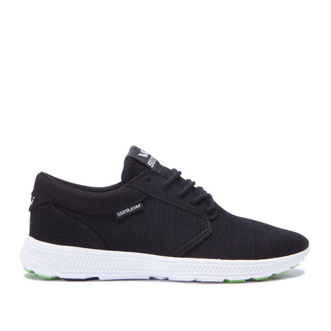 Supra Women's Hammer Run Sneakers Black - White