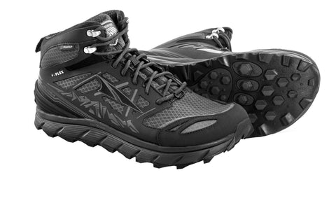 Altra Men's Lone Peak 3 Mid Neoshell Shoes Black