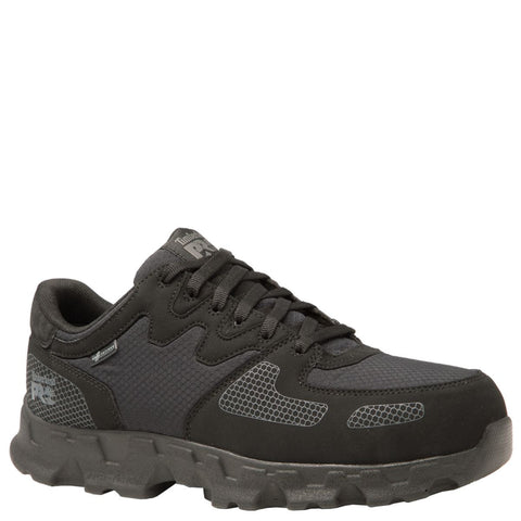 Timberland PRO Men's Powertrain Alloy Toe SD+ Work Shoes Black