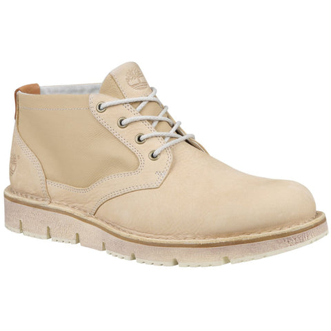 Timberland Men's Westmore Chukka Boots Tan Barefoot Buffed w/Canvas