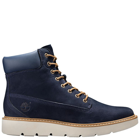 Timberland Women's Kenniston 6-Inch Lace-Up Boots Navy Nubuck