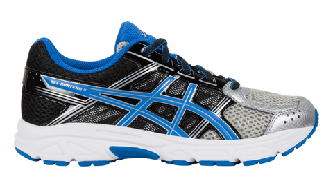 Asics Kid's GEL-Contend™ 4 GS (Wide) Silver/Classic Blue/Black