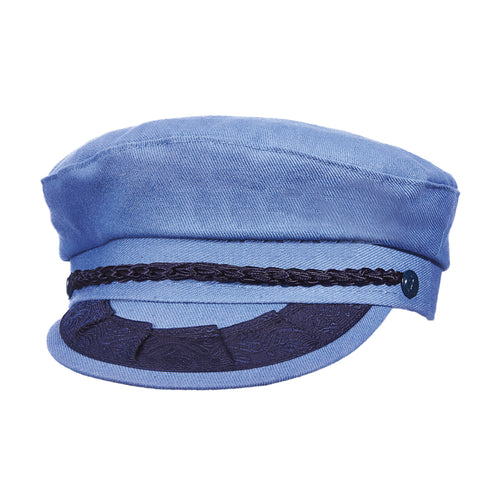Aegean Men's Greek Cotton Fisherman Hats Denim