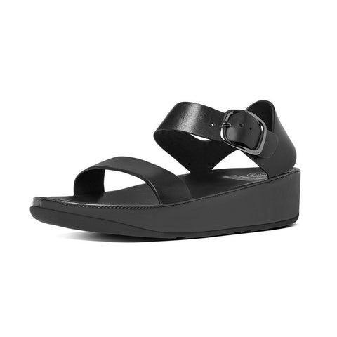 Fitflop Women's Bon™ Leather Back-Strap Sandals All Black