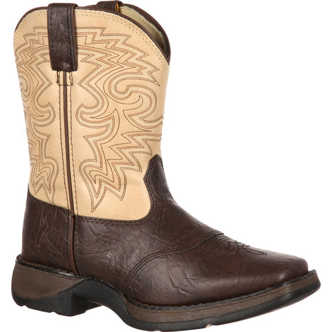 Durango Kids' Rebel By Durango Brown & Tan Saddle Western Boot