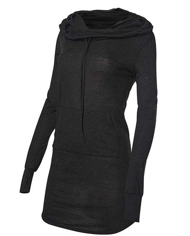 TYR Women's Zoe Hooded Dress Black