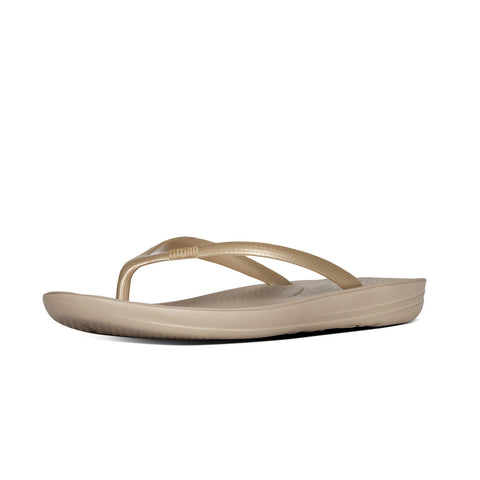 Fitflop Women's Iqushion™ Super-Ergonomic Flip Flops Gold