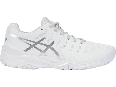 Asics Women's GEL-RESOLUTION® 7 White/Silver