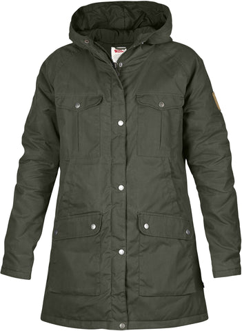 Fjallraven Womens Greenland Parka Fleece Outerwear Jacket