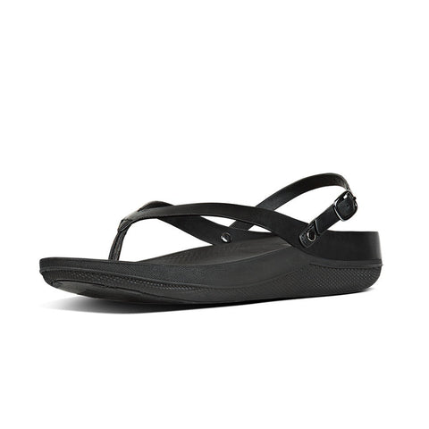 Fitflop Women's Flip™ Leather Back-Strap Sandals All Black