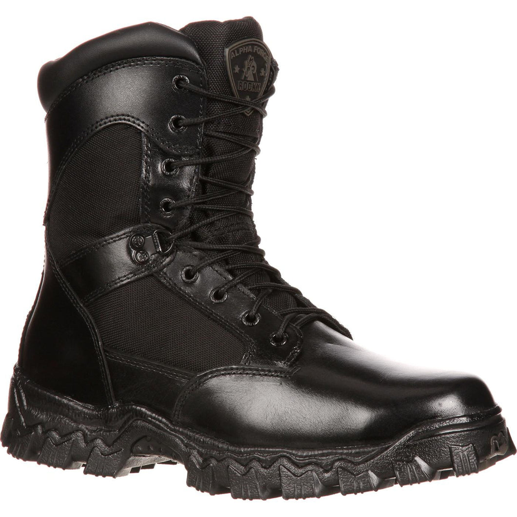 Rocky Men's Alphaforce Zipper Waterproof Duty Boot