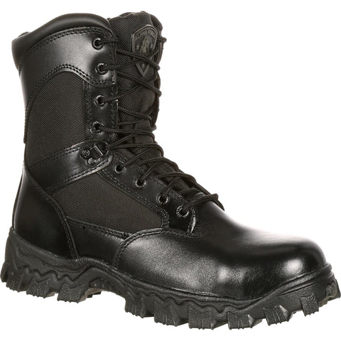 Rocky Men's Alphaforce Zipper Composite Toe Duty Boot