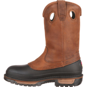 Georgia Men's Brown Muddog Wellington Work Boot