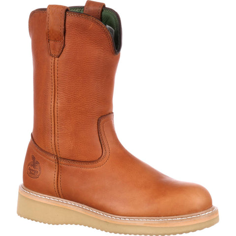 Georgia Men's Wedge Farm & Ranch Work Wellington Boot