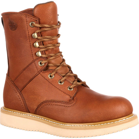 Georgia Men's Barracuda Gold Wedge Work Boot
