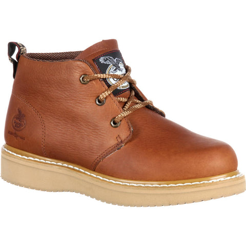 Georgia Men's Farm & Ranch Chukka Work Boot