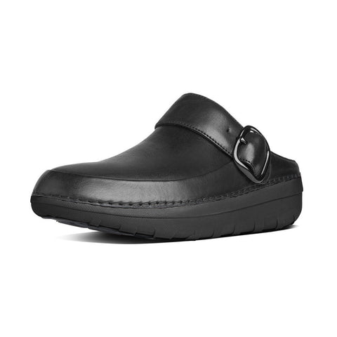 Fitflop Women's Gogh™ Pro Superlight Leather Clogs Black