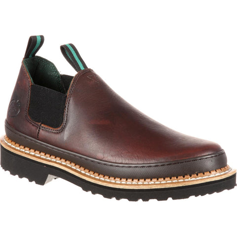 Georgia Men's Giant Romeo Soggy Brown Work Shoe