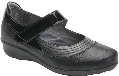 Drew Shoes Women's Genoa Shoes Dusty Black Leather