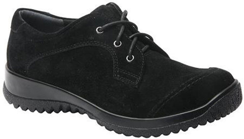 Drew Shoes Women's Hope Shoes Black Suede