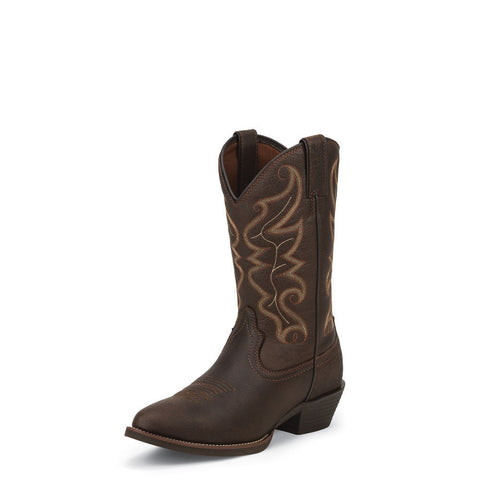 Justin 2565 Men's All Star Chocolate Western Boots