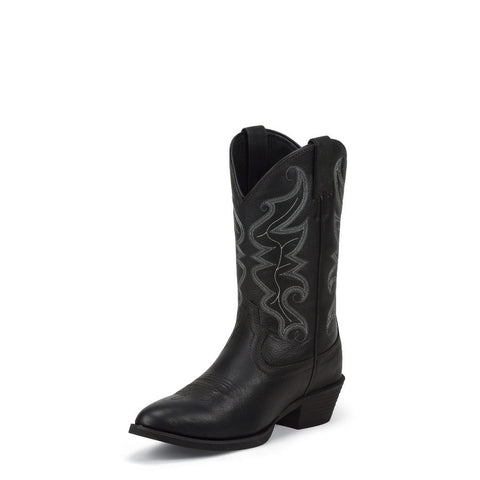 Justin 2566 Men's All Star Black Western Boots