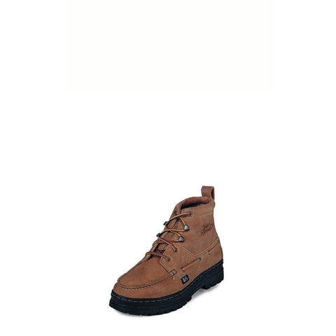 Justin 995 Men's Copper Grizzly Chukka Casual Boots