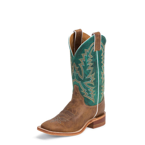 Justin BRL317 Women's Burnished Tan America Bent Rail Boots
