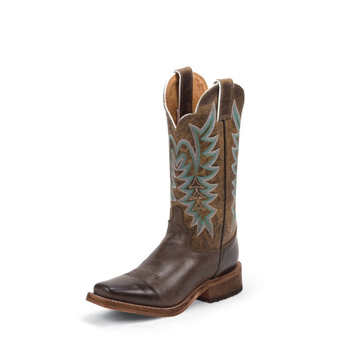 Justin BRL610 Women's Chocolate America Bent Rail Boots