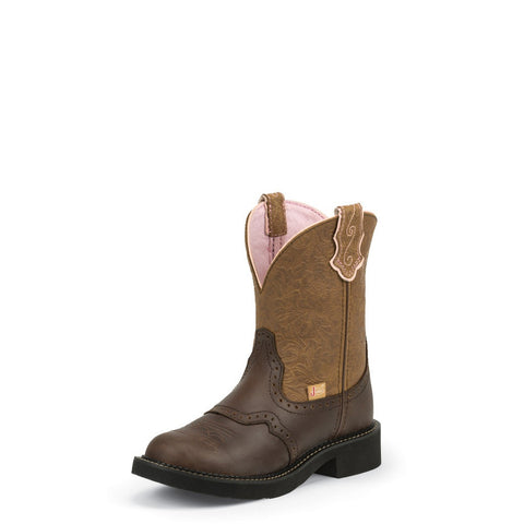 Justin L9625 Women's Cafe Brown Justin L9625 Gypsy Boots