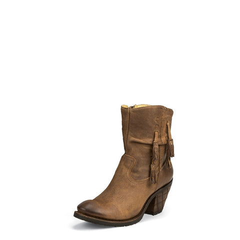Justin MSL101 Women's Tan Rustico Fashion Boots