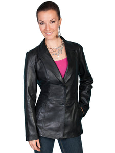 Scully L646 Women's Tailored Lamb Blazer