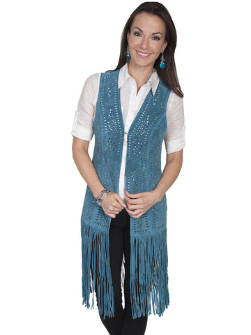 Scully Suede fringe vest