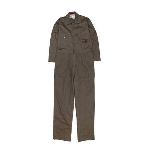 Rasco FR Men's Lightweight Coveralls Gray