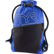 Load image into Gallery viewer, TYR Men's Alliance Waterproof Sackpack Royal