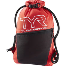 Load image into Gallery viewer, TYR Men's Alliance Waterproof Sackpack Red
