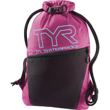 Load image into Gallery viewer, TYR Men's Alliance Waterproof Sackpack Pink