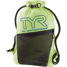 Load image into Gallery viewer, TYR Men's Alliance Waterproof Sackpack Fl. Yellow