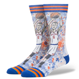Stance Men's TF Porzingis Sock, Blue