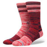 Stance Men's Red Sox Greystone Sock, Red