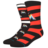 Stance Men's Mariners Sock, Orange