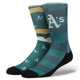 Stance Men's Oakland As Splatter Sock, Green