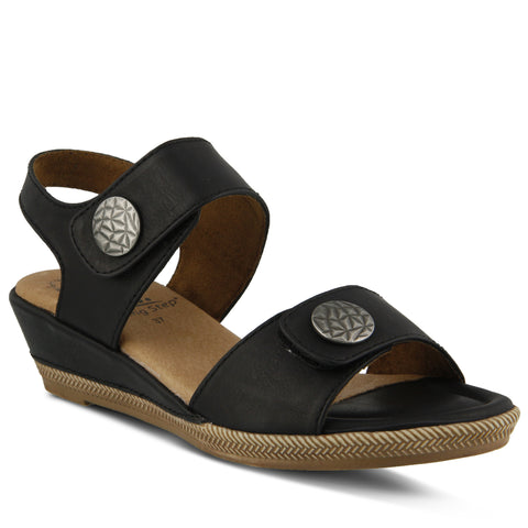 Spring Step Women's Magali Sandal Black