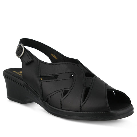 Spring Step Women's Marina Sandal Black